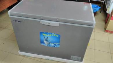 Hitec 360Ltr Metal Grey Freezer (new)