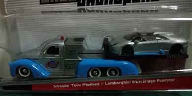 Missile Tow Flatbed + Lamborghini Murcielago Roads