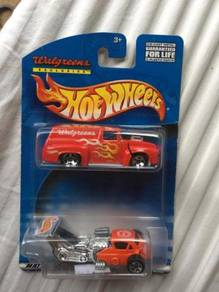 Hotwheels Walgreens Exclusive 56' Ford Twin Pack