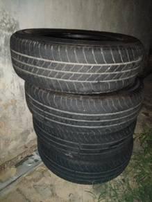 Used tayar silverstone