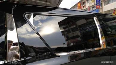 Toyota vellfire alphard window door pillar chrome