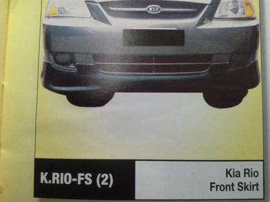 Kia rio 06 bodykit with spoiler