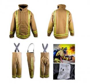 UK Fireman Firefighter Suit Set Bomba Penyelamat