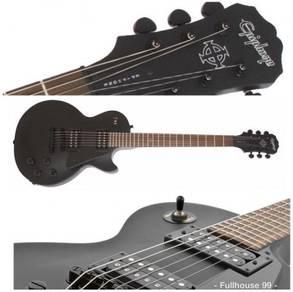 Epiphone Gothic (Black):Les Paul