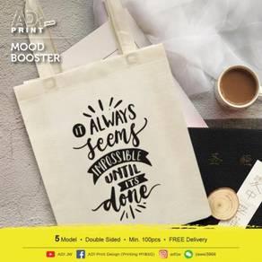 Mood Booster Non-woven bag