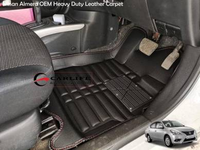 Nissan Almera Heavy Duty Leather Carpet OFFER