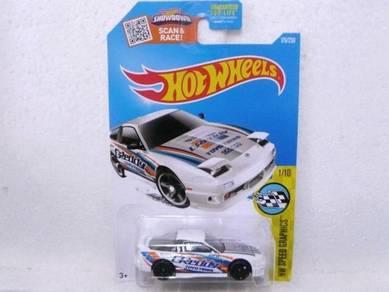 Hotwheels '96 Nissan 180SX Type X #176 White