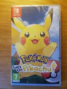 Nintendo Switch let's go Pikachu