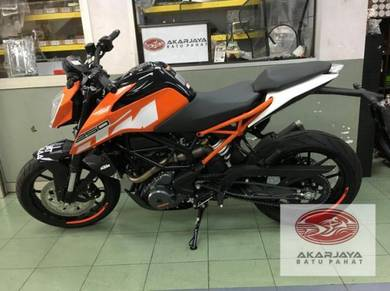 Ktm duke 250 ABS 2018 DEMO UNIT