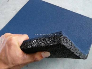 Gym rubber floor mat