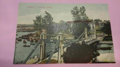 OFFER Antik Postcard Cavenagh Bridge 1910s PC 365