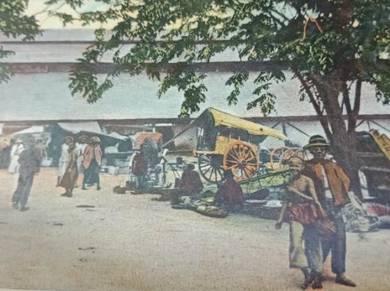 Postcard IPOH MARKET 1900s PC 2725