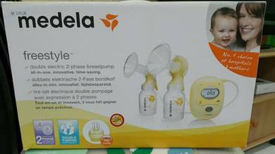 Freestyle double electric breast pump with 2-Phase