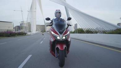 New launching modenas elegan 250 ABS