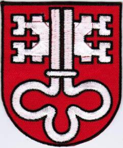 Canton of Nidwalden Coat of Arms Switzerland Patch