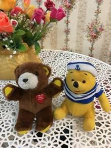 Bear and Winnie Stuff doll