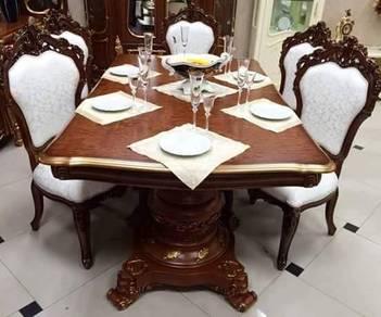 Meja makan set 10