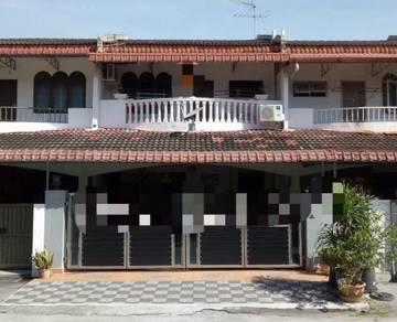 Ipoh Bercham Double Storey House For Sale (Taman Desa Kencana)