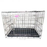 L Size Foldable Stainless Steel Cage