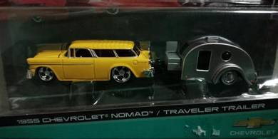 1955 Chevrolet Nomad + Traveler Trailer