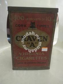 Old Cigarettes Tin Box
