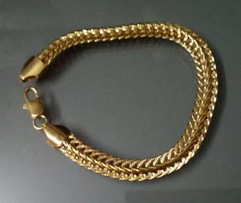 ABBGF-C004 9k Real Gold Filled Centipede Bracelet