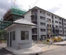 Renovated Subang Indah Court low cost flat, Bumi lot