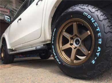 Tyre Raiden AT MONSTER 4X4 265-70-16 265-55-20
