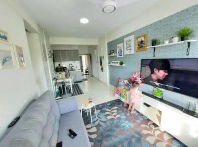 CANTIK Suria Ixora Apartment at Setia Alam NAK JUAL CEPAT