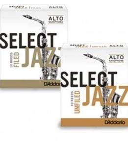 Rico Select Jazz Alto Saxophone Reeds