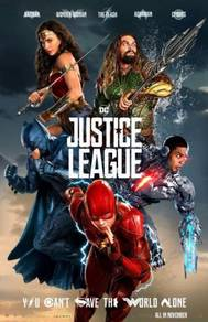 Poster MOVIE JUSTICE LEAGUE