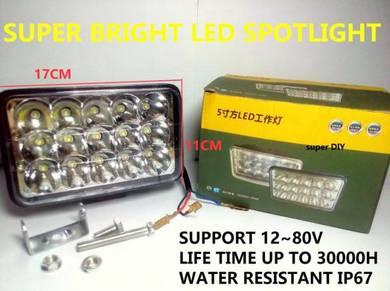 LED Spotlight Super Bright Car Truck Excavator