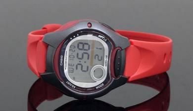 Casio Lady 10 Year Battery Rubber Watch LW-200-4AV