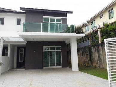 New Big Double Storey Semi Detached House At Taman Desa Penaga Kulim