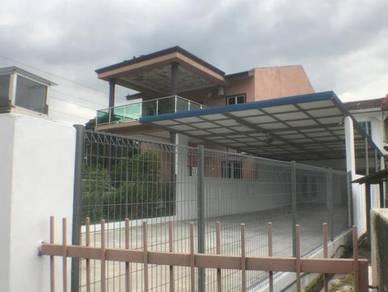 Big Size 20x120 2 Storey Taman Jati Kampung Jawa Giant Klang