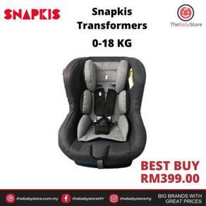 Car seat snapkis transformer - grey