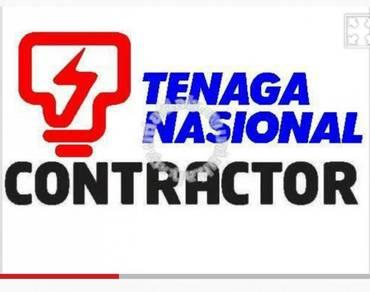 Contractor tnb - kl / selangor / negeri sembilan