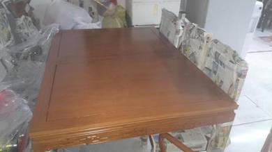 Dining Suite Table (10 seater) -Solid Merbau