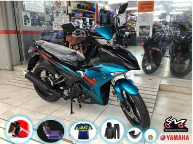 Yamaha Y15 Y15ZR Y15 ZR Ysuku Cyan LOW DP Aeon OTR