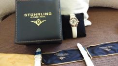 Stuhrling Swiss Automatic Kinetic Watch