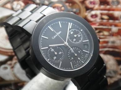 55) calvin klein chronograph eta2894 automatic 50m