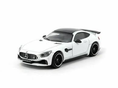 Tarmac Works Mercedes AMG GT-R Diamond White 1/64