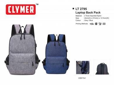 CLYMER BAG Backpack Beg Sekolah