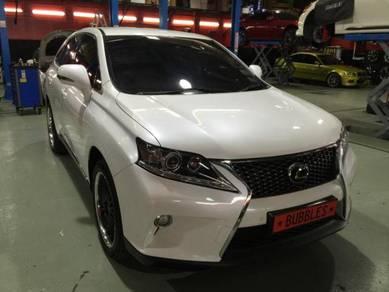 Lexus RX 350 facelift conversion