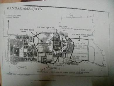 Land For Sale Near Spice Village Sungai Petani