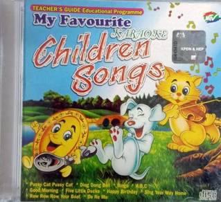 My Favourite Karaoke Children Songs CD