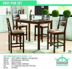 Meja Kerusi Makan Tinggi & / Bar Dining Table