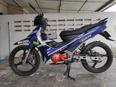 2002 Yamaha 125ZR untuk di jual , for sale