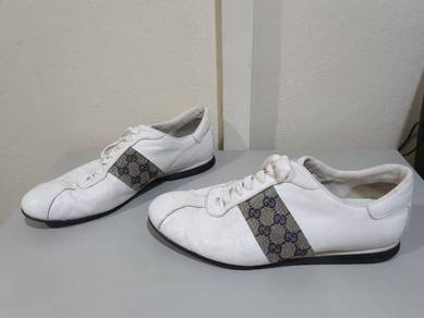 Gucci mens leather sneaker Authentic
