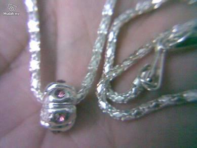ABPS9-E001 Elite Silver 925 Bead for European Neck
